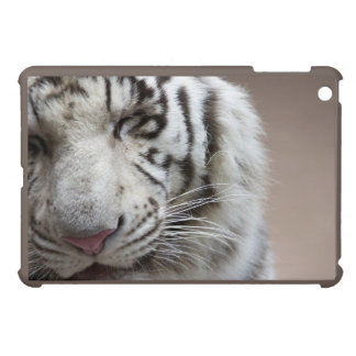 Laugh Of The White Tiger iPad Mini Covers