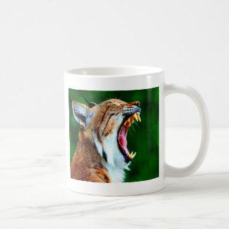 Laugh out loud bobcat lynx wildcat coffee mug