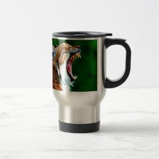 Laugh out loud bobcat lynx wildcat coffee mugs