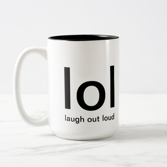 laugh out loud mug