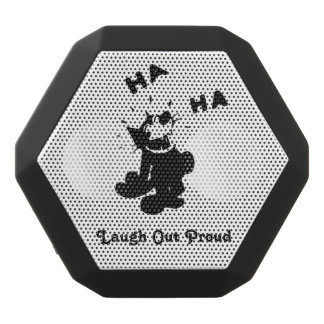 Laugh Out Proud Black Bluetooth Speaker