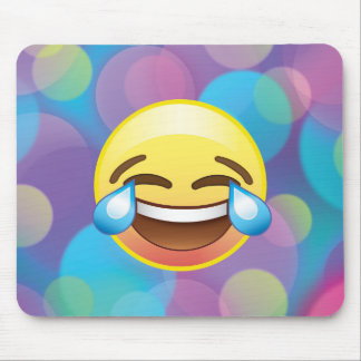 Laugh till you Cry, Tears of Happiness Emoji Pad Mouse Mat