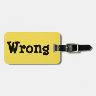 Laughable Luggage Luggage Tag