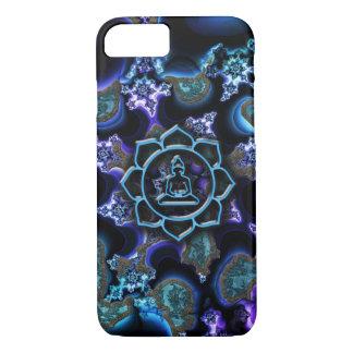 Laughing Baby Buddha Lotus Fractal iPhone 7 Case