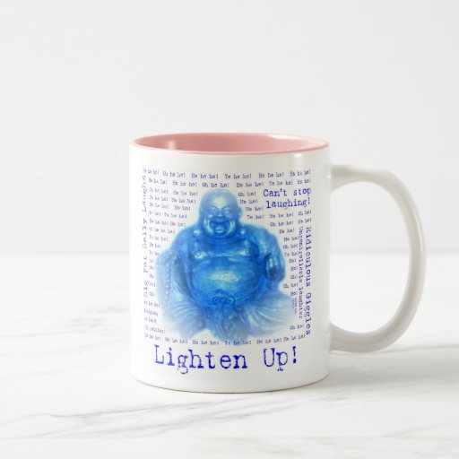 Laughing Buddah (1) Mugs - Many Styles/Colors!
