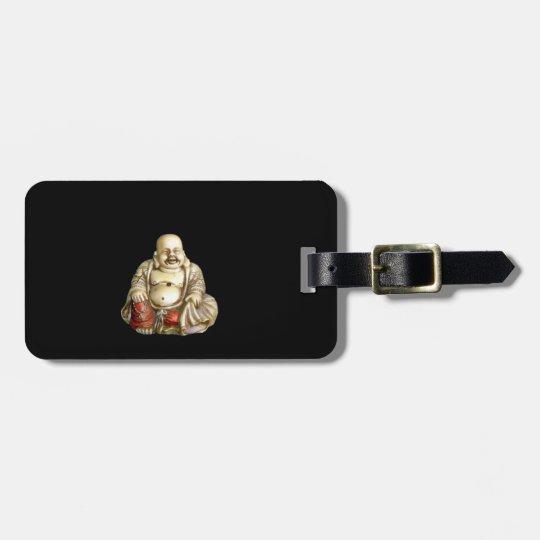Laughing Buddah Luggage Tag