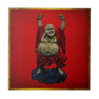 Laughing Buddha (4 color) Tile
