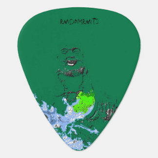 Laughing Buddha and Water Dragon Guitar Picks Guitar Pick