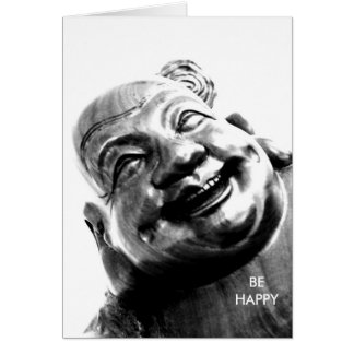 Laughing Buddha/ Card