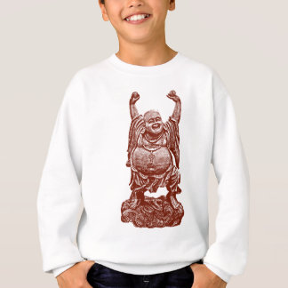 Laughing Buddha (dark red) Sweatshirt