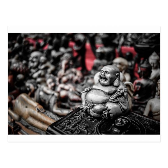 Laughing Buddha Postcard