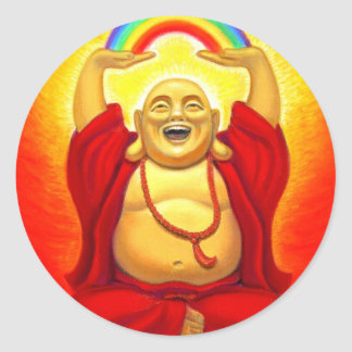 Laughing Buddha Sticker