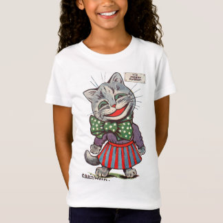 Laughing Cat, Louis Wain T-Shirt