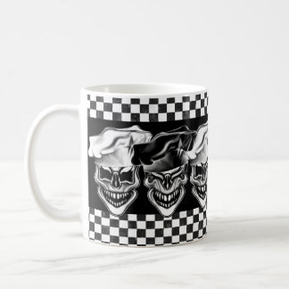 Laughing Chef Skulls Coffee Mug