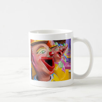 Laughing Clowns Basic White Mug