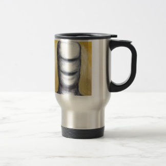 Laughing Cyclops (surrealism monster portrait ) Stainless Steel Travel Mug