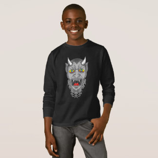 Laughing Devil Illustration T-Shirt