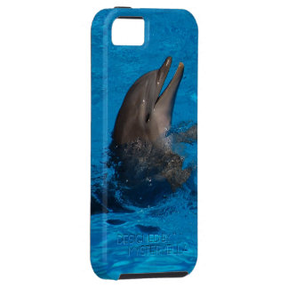 """""""laughing dolphin"""" by mysteryella tough iPhone 5 case"""