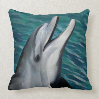 Laughing Dolphin Cushion
