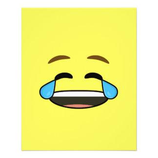 Laughing Emoji 11.5 Cm X 14 Cm Flyer