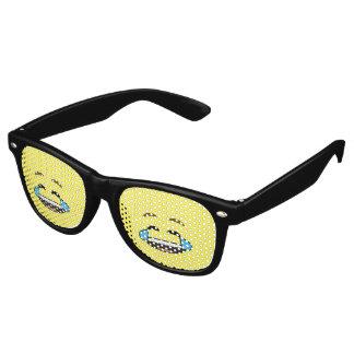 Laughing Emoji Retro Sunglasses