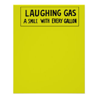 Laughing Gas 11.5 Cm X 14 Cm Flyer