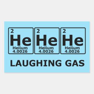 Laughing Gas Rectangular Sticker