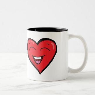 Laughing Heart Mug