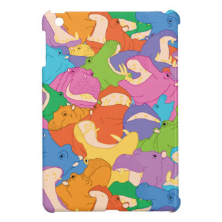 Laughing Hippos iPad mini case