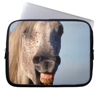 laughing horse laptop sleeve