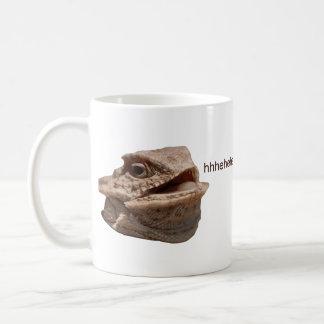 Laughing Iguana HeHe Lizard Coffee Mug