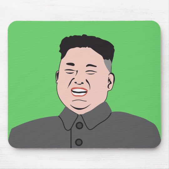 Laughing Kim Jong-un Mouse Pad