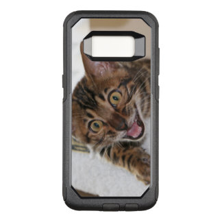 LAUGHING KITTEN OtterBox COMMUTER SAMSUNG GALAXY S8 CASE