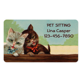 Laughing Kittens Business Card