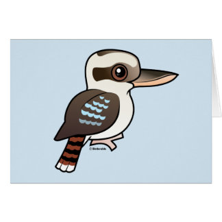 Laughing Kookaburra Greeting Cards