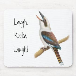 Laughing Kookaburra Mousepad
