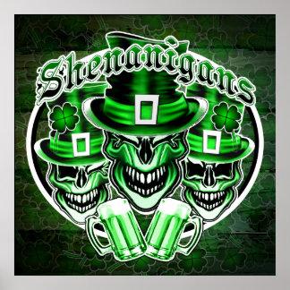 Laughing Leprechaun Skulls: Shenanigans 2 Poster