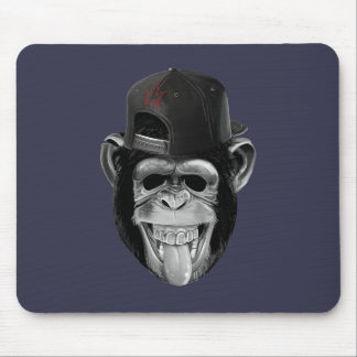 Laughing Monkey Mouse Mat