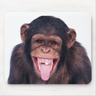 Laughing Monkey Mousepad