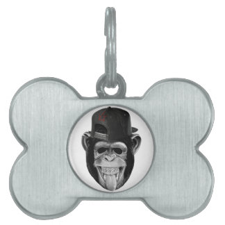 Laughing Monkey Pet Tag