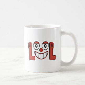 Laughing Out Loud Illustration Coffee Mug