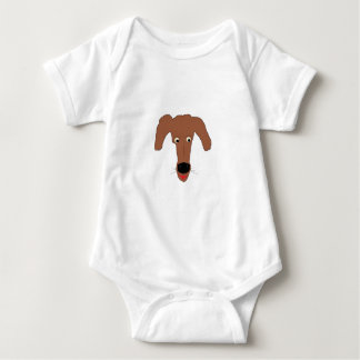 Laughing Puppy Baby Bodysuit