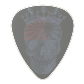 Laughing Skull Crown Anchor Bees High Voltage Polycarbonate Guitar Pick