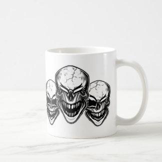Laughing Skulls Basic White Mug