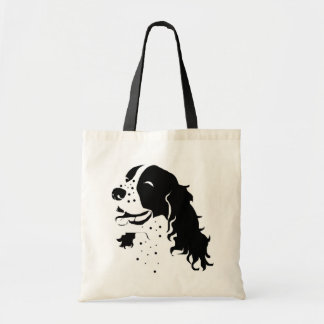 Laughing Springer Spaniel Tote Bag