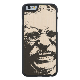 Laughing Teddy Carved® Maple iPhone 6 Case