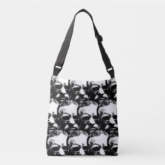 Laughing Teddy TP Crossbody Bag