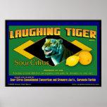 Laughing Tiger Sour Citrus poster