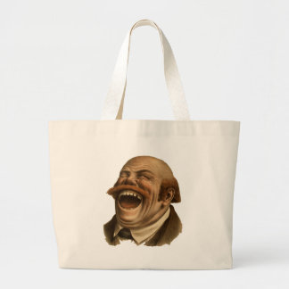 Laughing! Canvas Bags