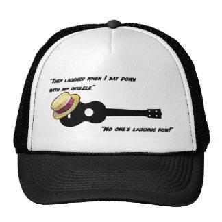 Laughing Ukulele Mesh Hat